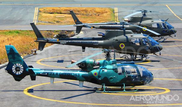 Línea de vuelo de la Aviación del Ejército Ecuatoriano