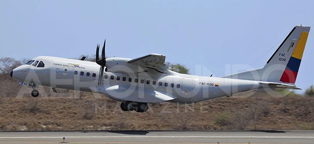 El Nuevo Avión CASA 295M de la Fuerza Aérea Ecuatoriana