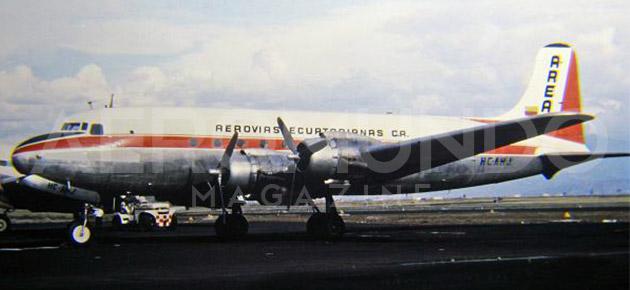 Historia de la Aviación Comercial en  Ecuador – Segunda Parte