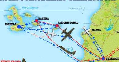 Puente aéreo: La FAE y su contribución a las Galápagos en la emergencia del 2015