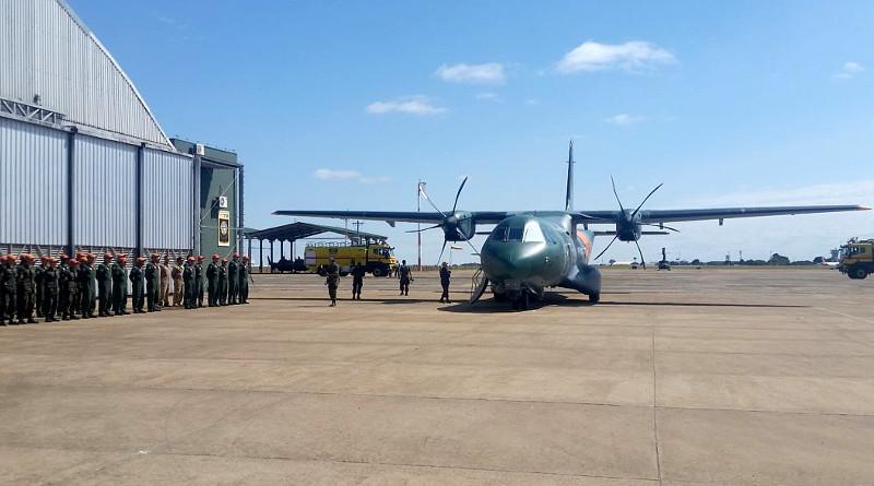 El C295 SAR de Airbus para Brasil concluye su exitosa gira mundial