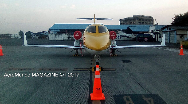 Honda Jet exhibición Guayaquil Ecuador