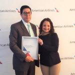American Airlines premia a las mejores agencias de viajes del Ecuador 2016